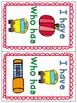 Back to School Literacy Game Pack