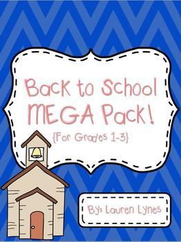 Back to School MEGA Pack! {Grades 1-3}