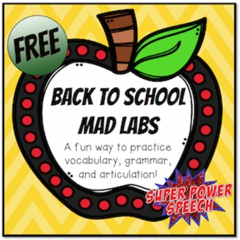 Back to School - Mad Labs