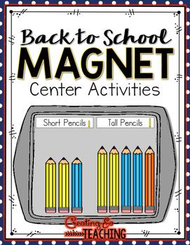Back to School Magnet Center Activities