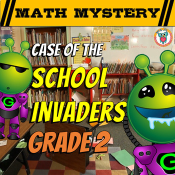 Back to School Math Mystery Activity {GRADE 2}