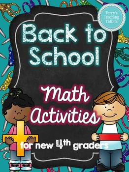 Back to School Math Activities - 4th