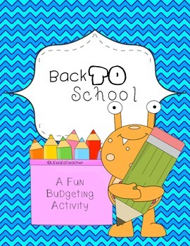 Back to School Math Activity!