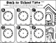 Back to School Math Center- Back to School Time (a time to