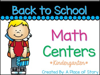 Back to School Math Centers (9 Common Core Aligned Stations)