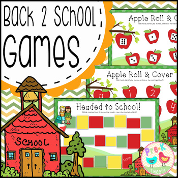 Back to School Math Games