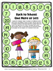 Back to School Activities: Back to School Math Games First Grade
