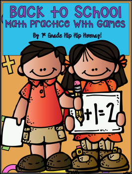 Back to School Math Games and Activities...Print and Play!