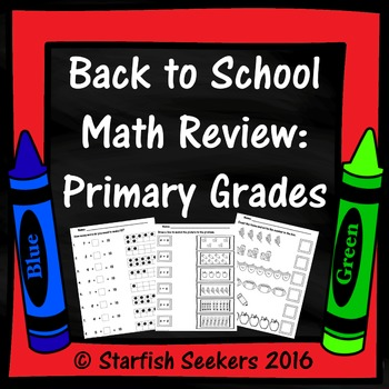 Back to School Math Review: Primary Grades