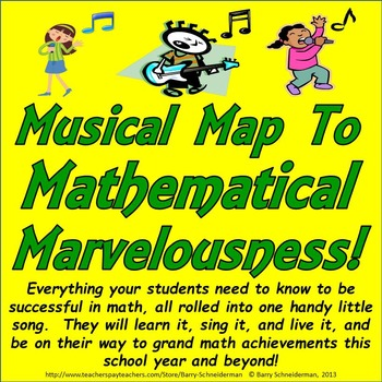 Back to School Math Song - Musical Map to Mathematical Mar