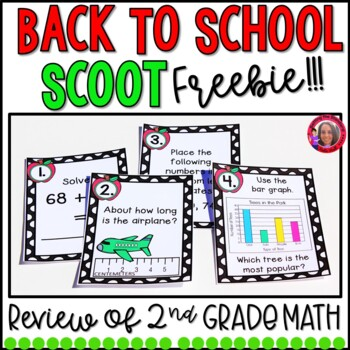 Back-to-School Math Task Cards