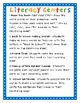 Back to School Math and Literacy Center Packet