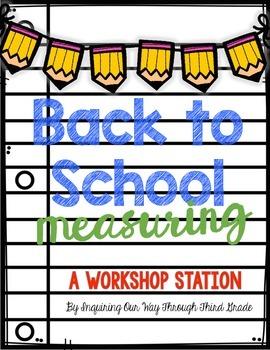 Back to School Measuring Workshop Station {FREEBIE!!}