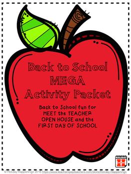 Meet the Teacher/First Day of School/Open House & More