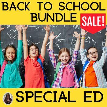 Back to School Mega Bundle for Special Education