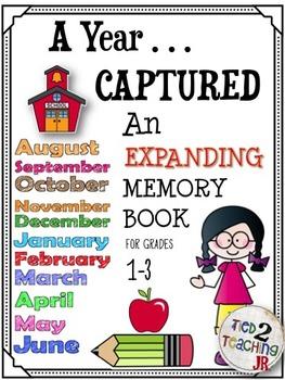 Back to School Memory Book (1st through 3rd grade)