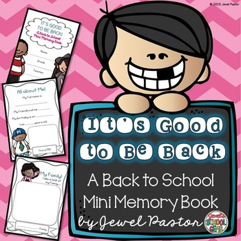 First Day of School Activities ❤ Back to School Memory Book