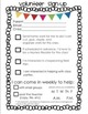 Back to School Mini Pack: Reading Tips, Volunteer Sign Up,