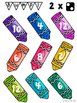 Back to School Multiplication Bump Game Boards