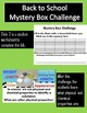 Back to School Mystery Box Challenge