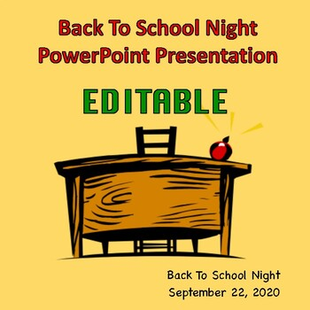 Back-to-School Night PowerPoint Presentation