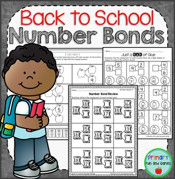 Back to School Number Bonds