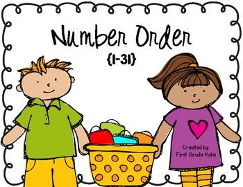 Number Order FREEBIE