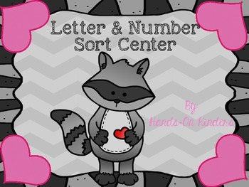 Back to School Number and Letter Sort