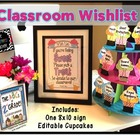Back to School/ Open House Classroom Wish List: Sweet Cupc