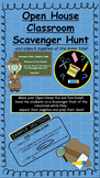 Back to School Open House Scavenger Hunt