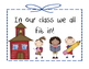 Back to School: Our class puzzle