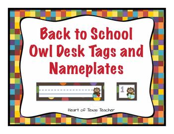 Back to School Owl Bundle