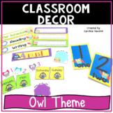 Back to School - Owls