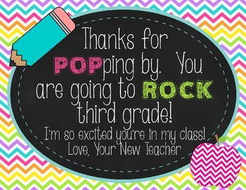 Back to School POP ROCKS tag - 3rd {FREE}