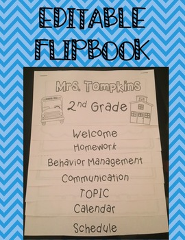 Back to School Parent Flipbook