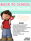 Back to School Parent/Student Forms