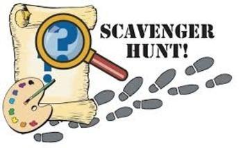 Beginning of School  - Parents Open House Scavenger Hunt