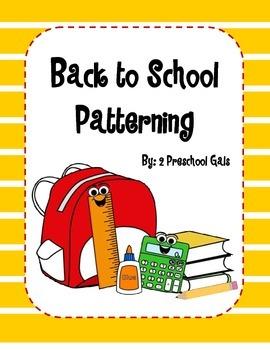 Back to School Patterning