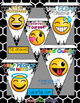 Back to School Pennant Emoji Style