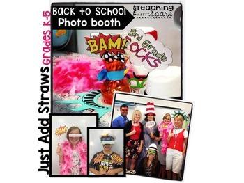 Back to School Photobooth