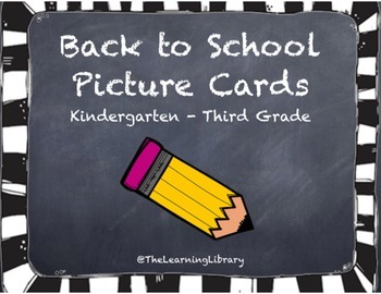 Back to School Picture Cards