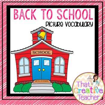 Back to School Picture Vocabulary