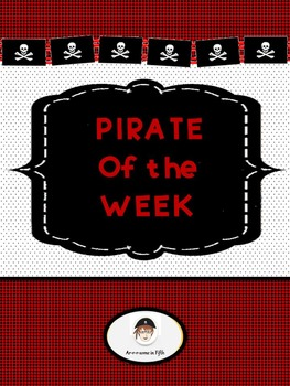Back to School: Pirate of the Week