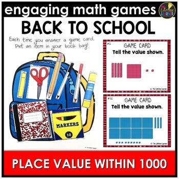 Back to School Place Value Within 1000
