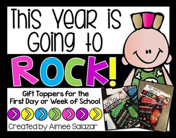 Back to School Pop Rock Gift Topper {Freebie}