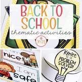 Back to School: Preschool, Pre-K and Kindergarten Resources