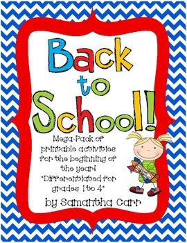 Back to School Printables!