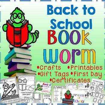 Back to School Bookworm