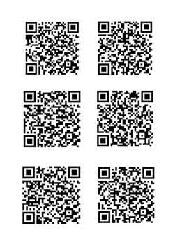Back to School QR Writing Prompts