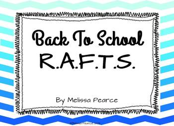Back to School R.A.F.T.S.